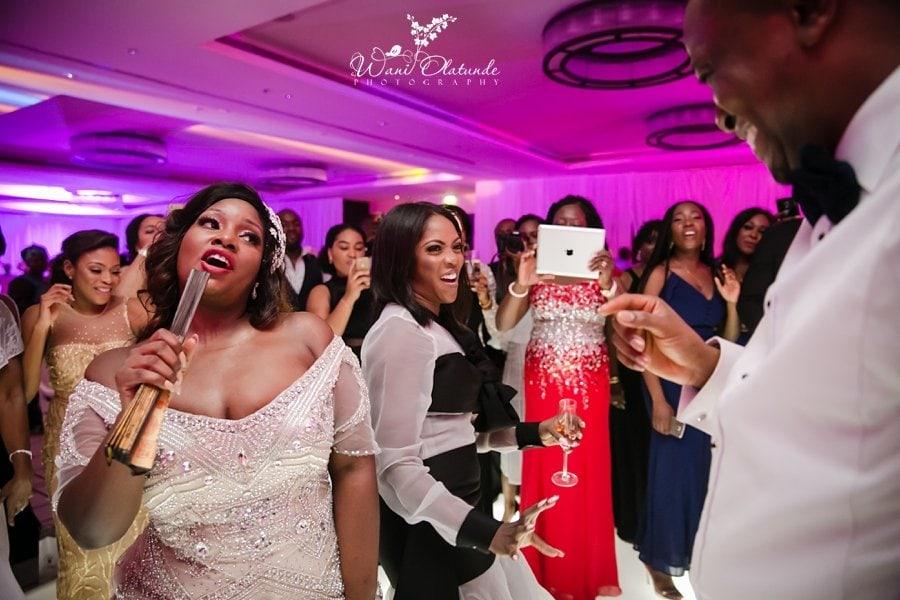 toolz wedding wani olatunde