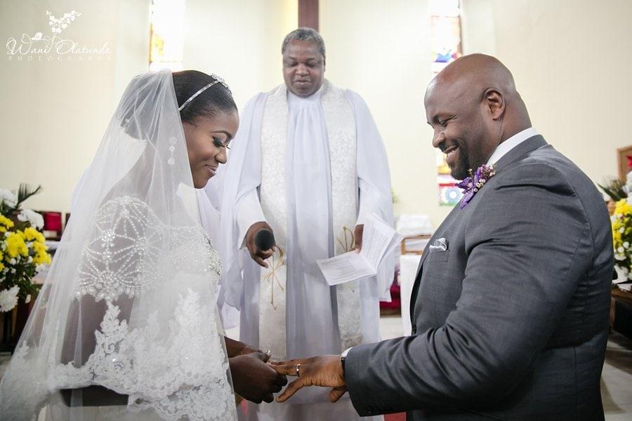 couple wedding vows our saviours church tbs