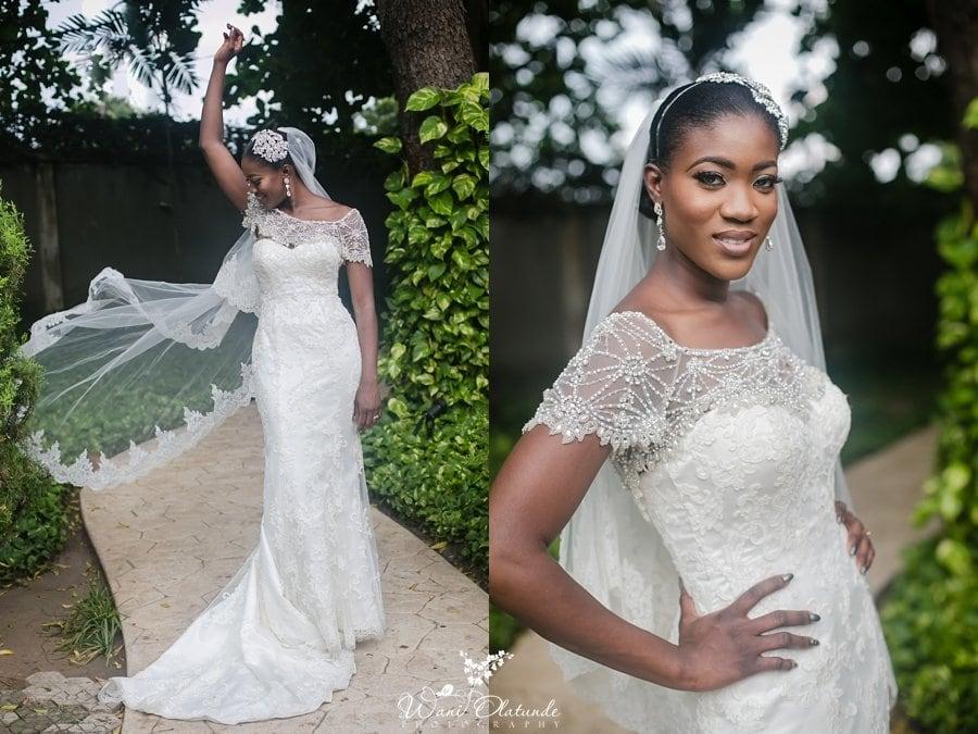 melanin dark skinned bride in imani swank
