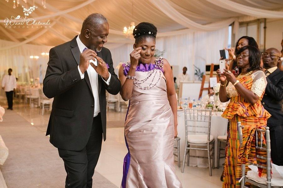 rustic glam wedding at d venue marquee lagos