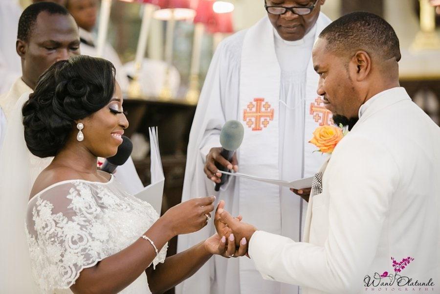 cathedral lagos wedding wani olatunde