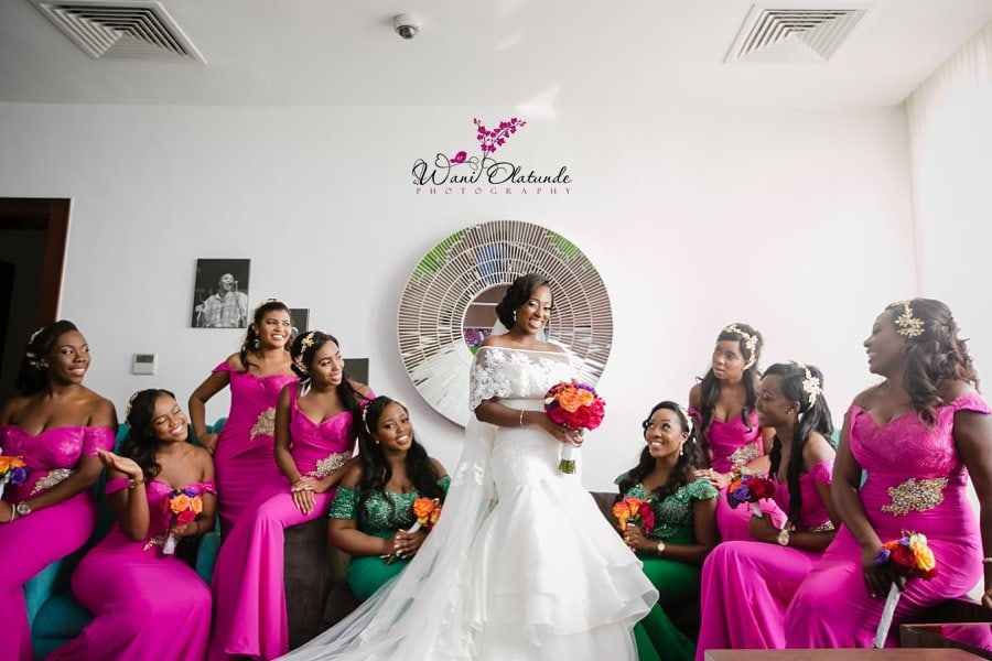 bridesmaids purple lagos wani olatunde