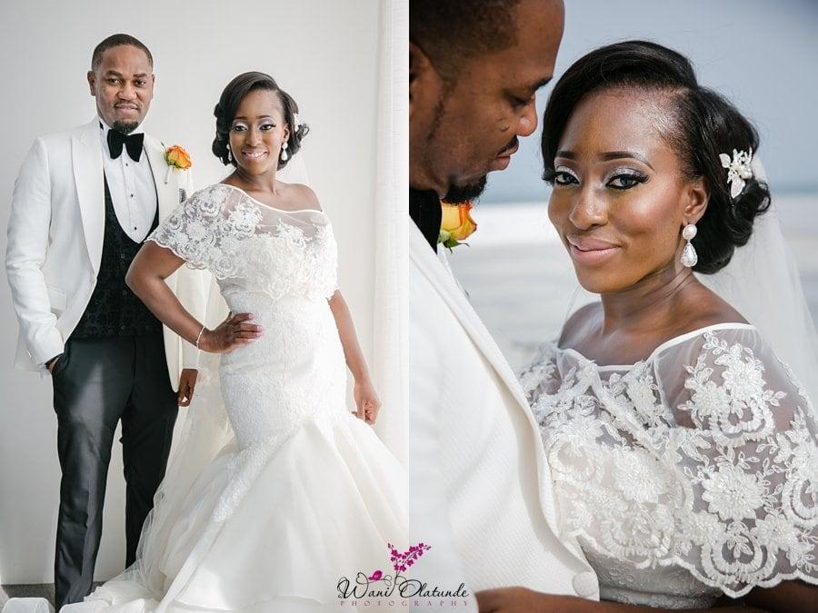 landmark towers wedding pictures wani olatunde