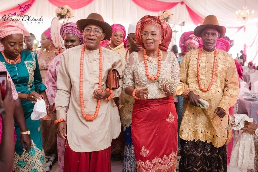 urhobo parents dancing d venue oniru wani olatunde