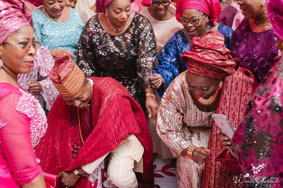 yoruba parents dancing d venue oniru wani olatunde