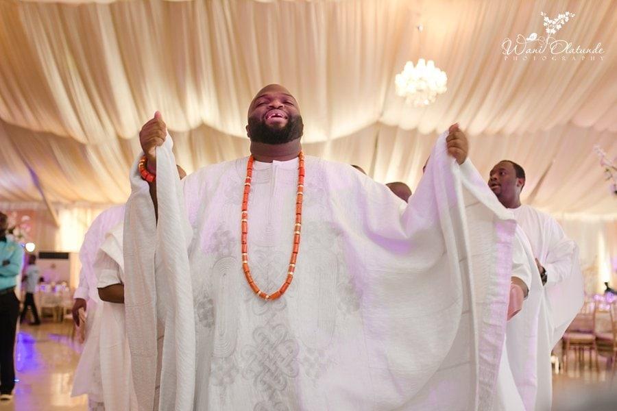 yoruba groom white dancing queens park wani olatunde