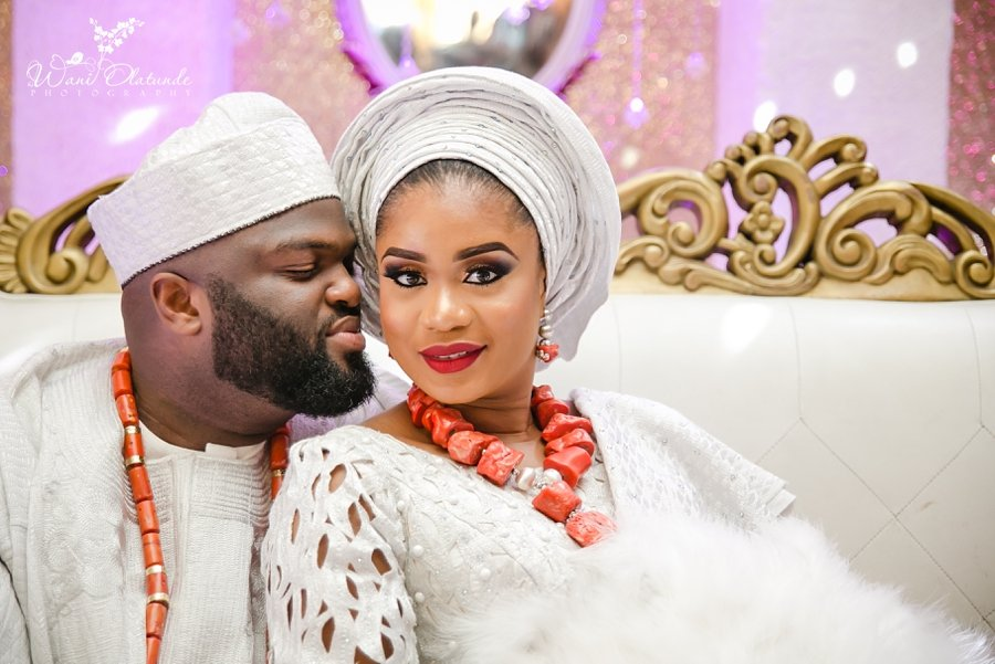 yoruba wedding couple queens park wani olatunde