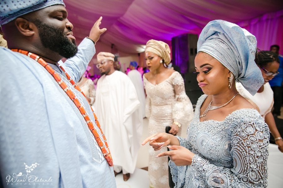 yoruba couple dancing wedding queens park wani olatunde