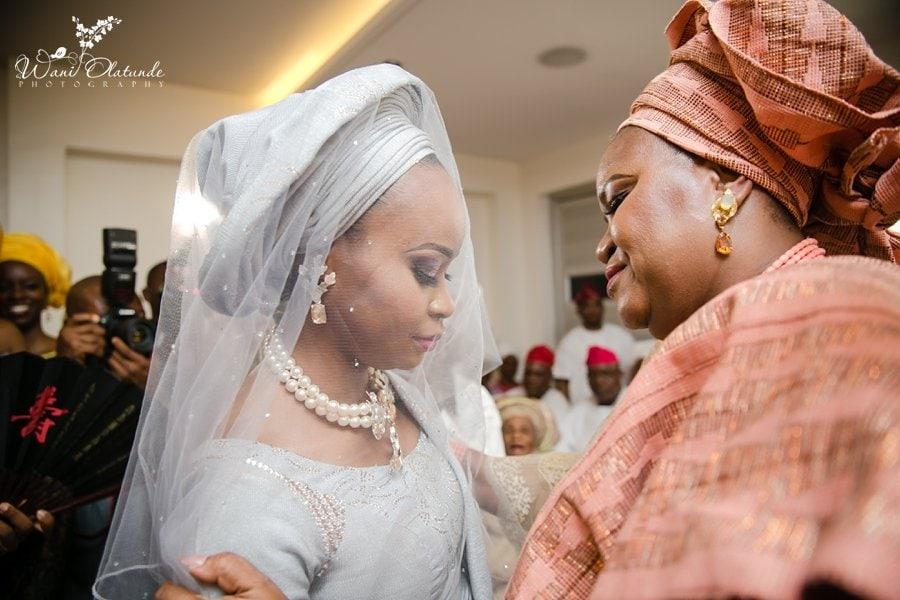 mum sends yoruba bride to new family wani olatund e