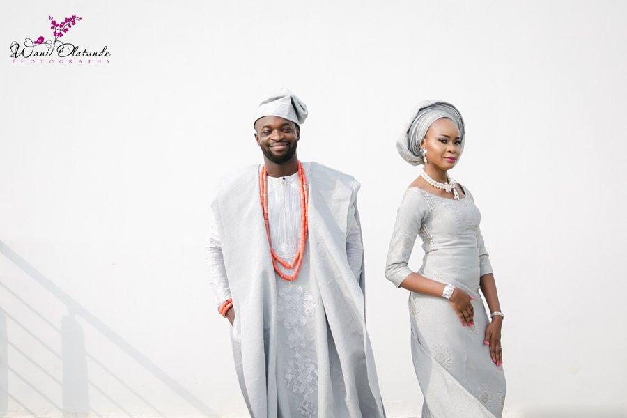 stylish yoruba traditional wedding wani olatunde