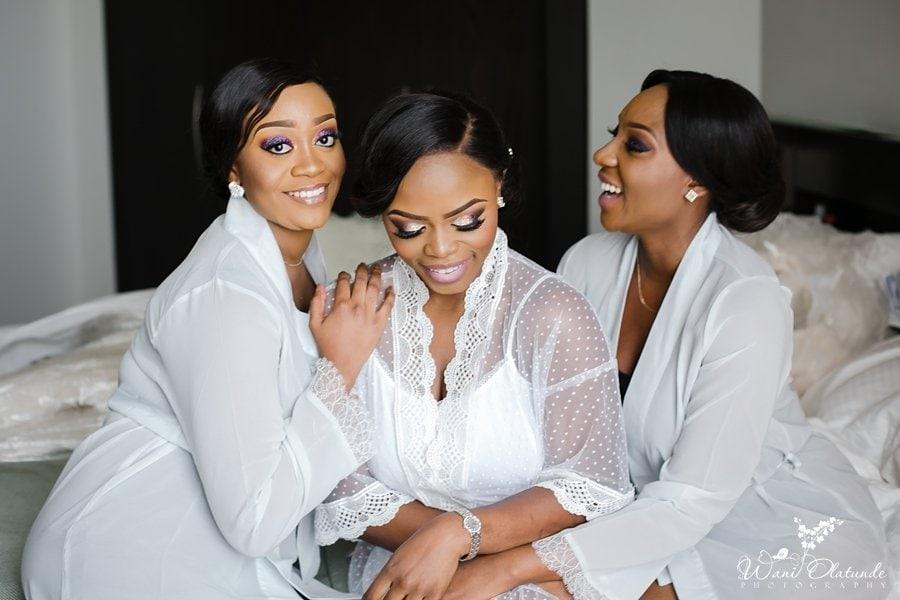bride wedding robe eko signature wani olatunde