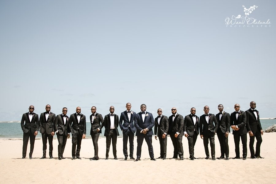 mai atafo groomsmen wedding wani olatunde