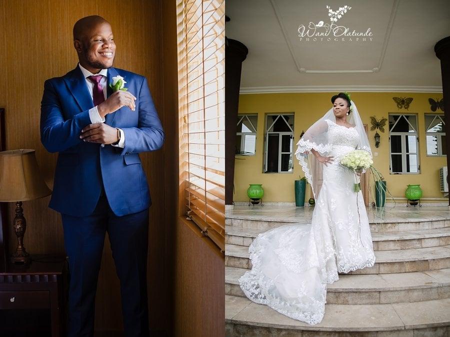 imani swank wedding dress wani olatunde