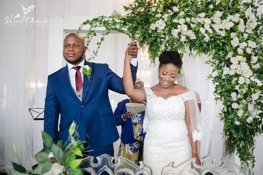bics garden wedding lagos wani olatunde