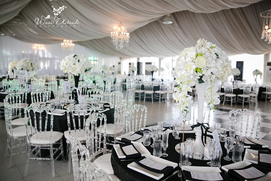 btg wedding decor marquee wani olatunde