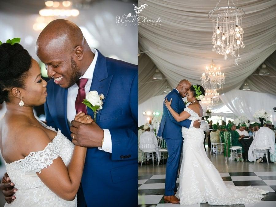 couple first dance bics garden lagos wani olatunde