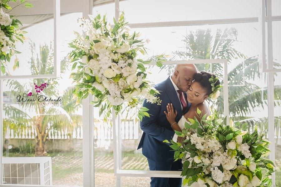 btg wedding frames decor lagos wani olatunde