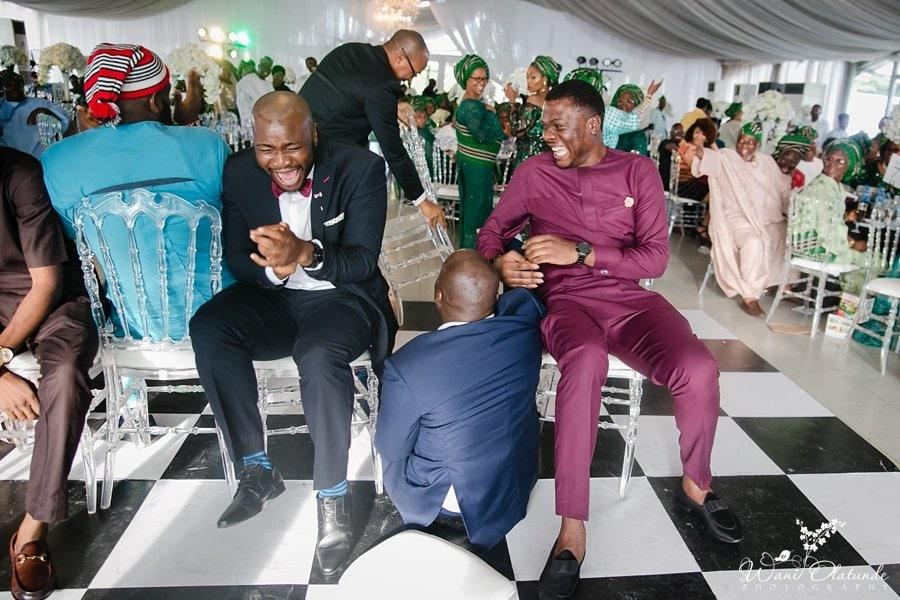 fun wedding games lagos wani olatunde