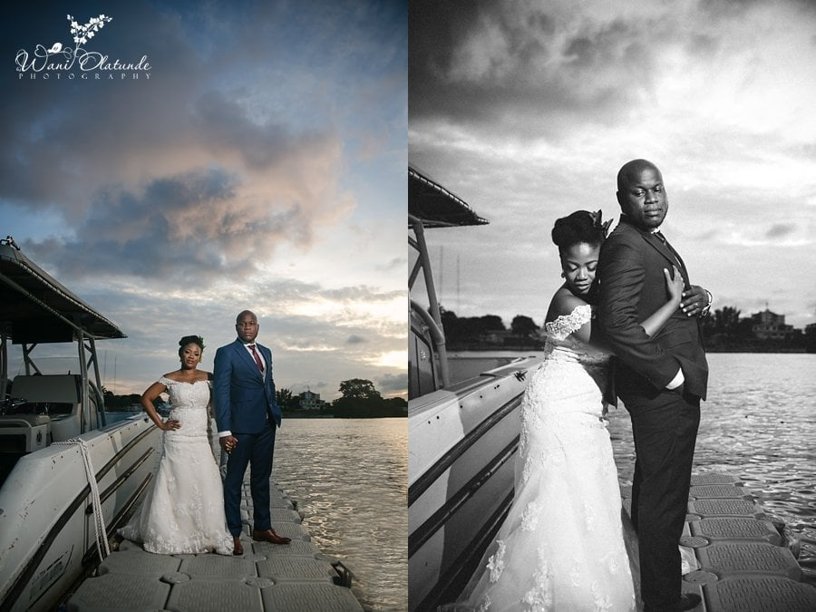 wedding sunset bics garden lagos wani olatunde