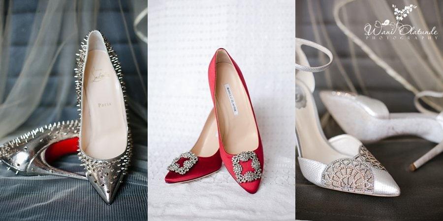 loubotin blahnik rene wedding shoes wani olatunde