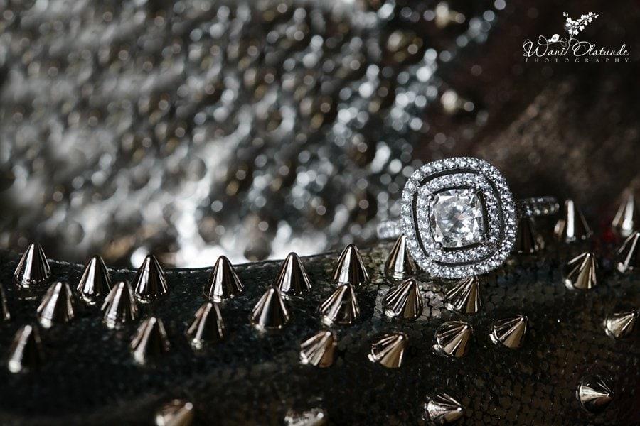 diamond engagement ring wani olatunde