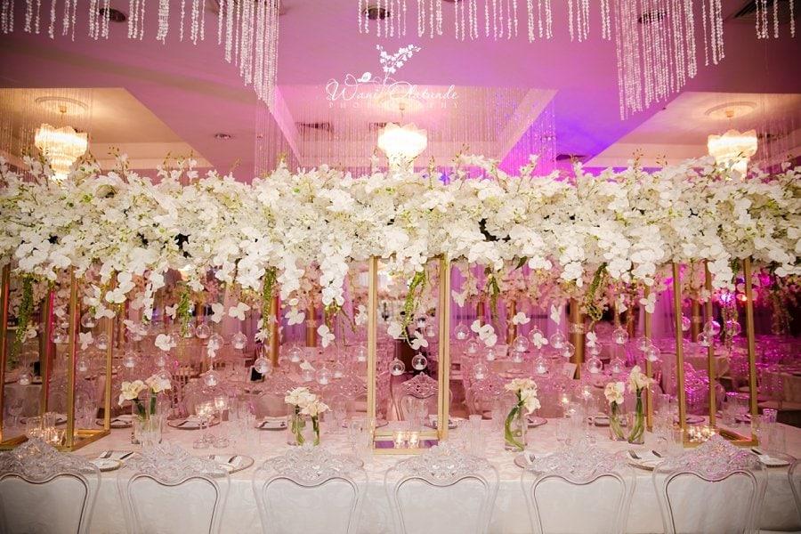 yvent kouture civic centre wedding decor wani olatunde