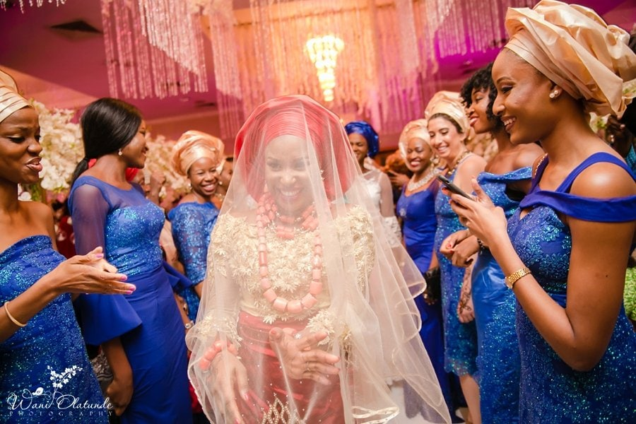 urhobo bride dancing civic centre lagos wani olatunde