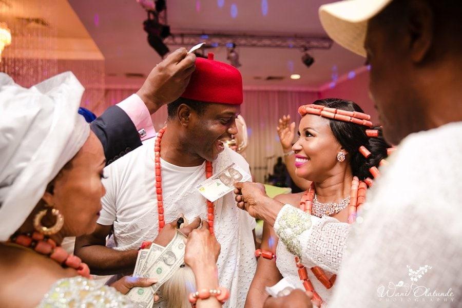 urhobo bride groom dancing lagos weddings wani olatunde