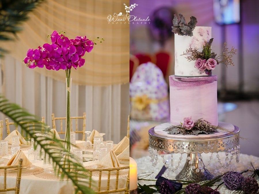 simple wedding havilah event centre lagos wani olatunde