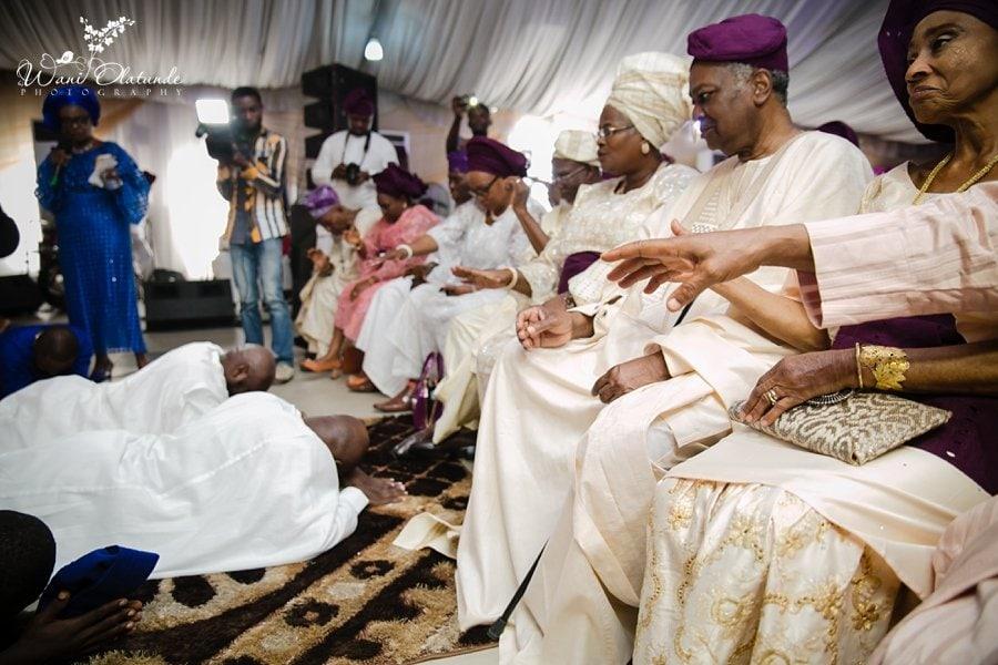 yoruba wedding havilah lagos wani olatunde