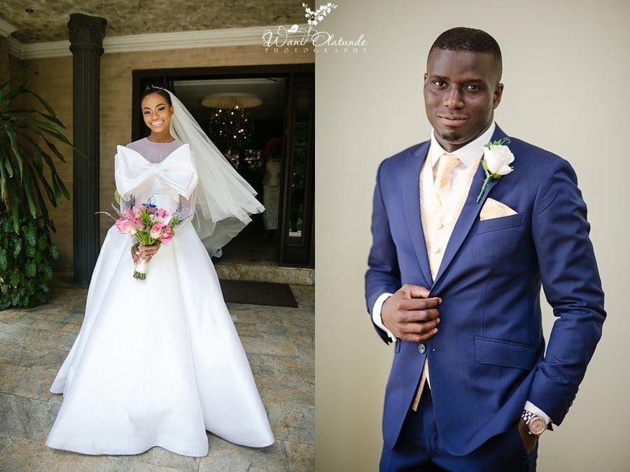 ituen basi bow wedding dress wani olatunde