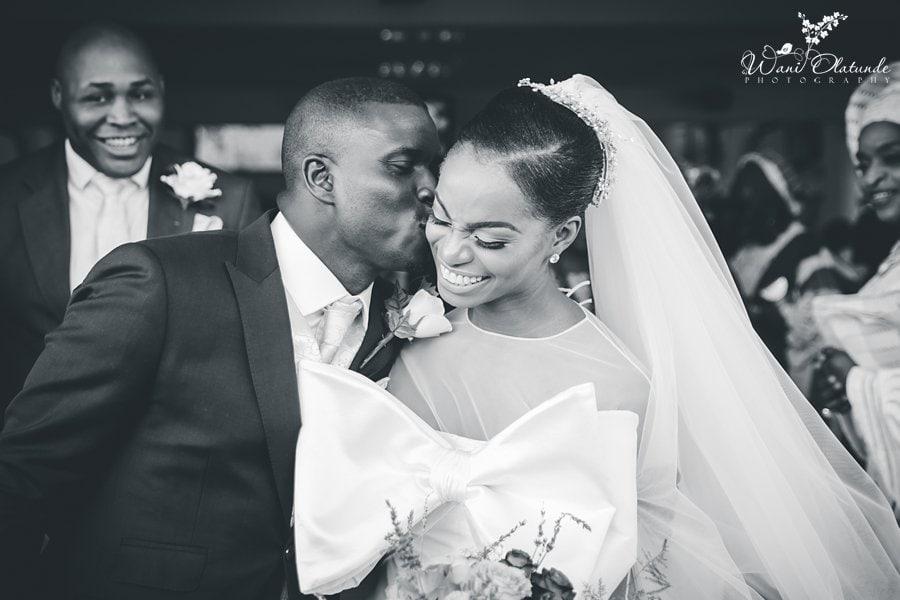 lagos bride groom happily married wani olatunde