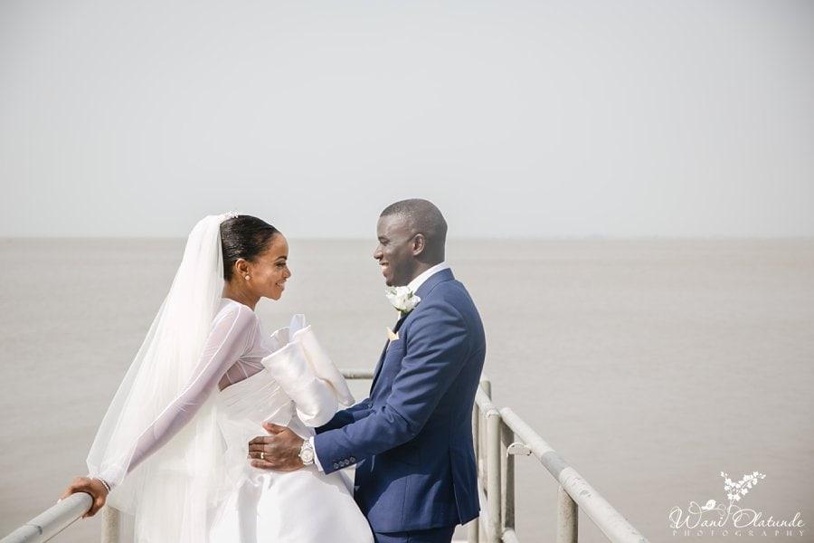 bride ituen basi wedding wani olatunde