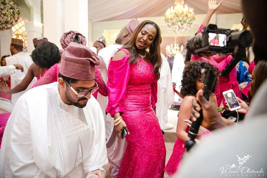 guests having fun at agodi gardens ajimobi wedding faaji2018 wani olatunde