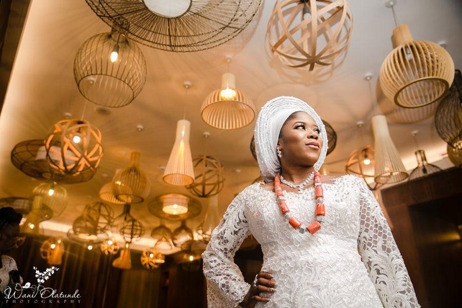 bride getting ready radisson blu wani olatunde