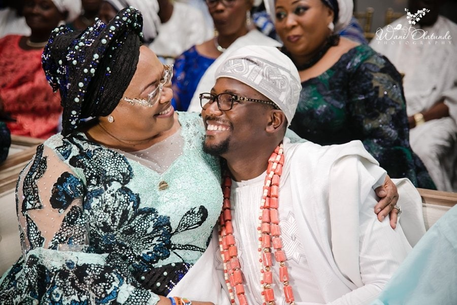 dad emotional yoruba wedding wani olatunde
