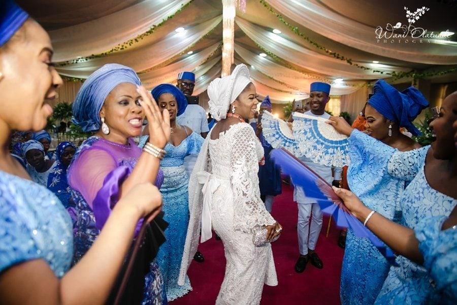 yoruba traditional wedding haven event centre wani olatunde