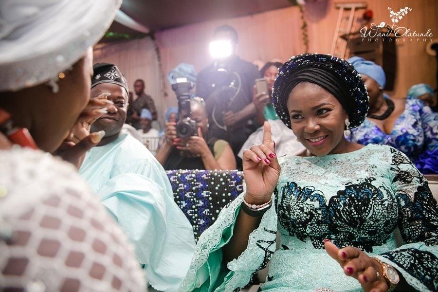 bride crying yoruba wedding moments wani olatunde