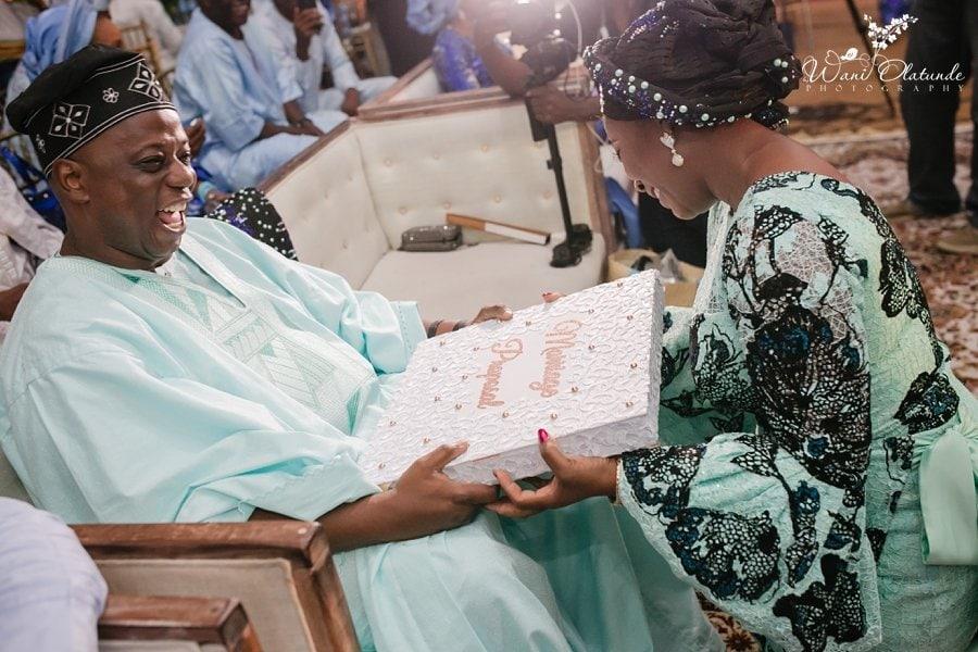 happy wedding moments yoruba wedding haven wani olatunde