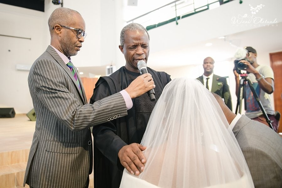 osinbanjo wedding wani olatunde