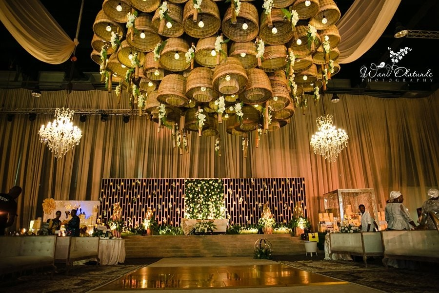 osibodu wedding landmark centre sarao design lagos wani olatunde