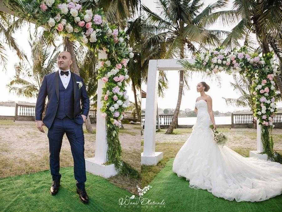 bics garden lagos wedding wani olatunde