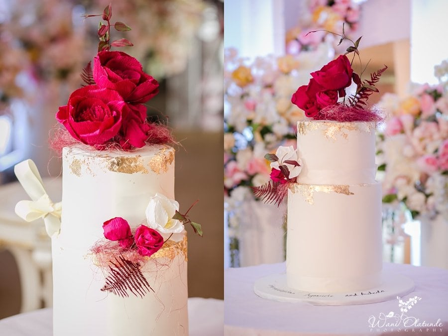 buttercup enterprises wedding cake wani olatunde