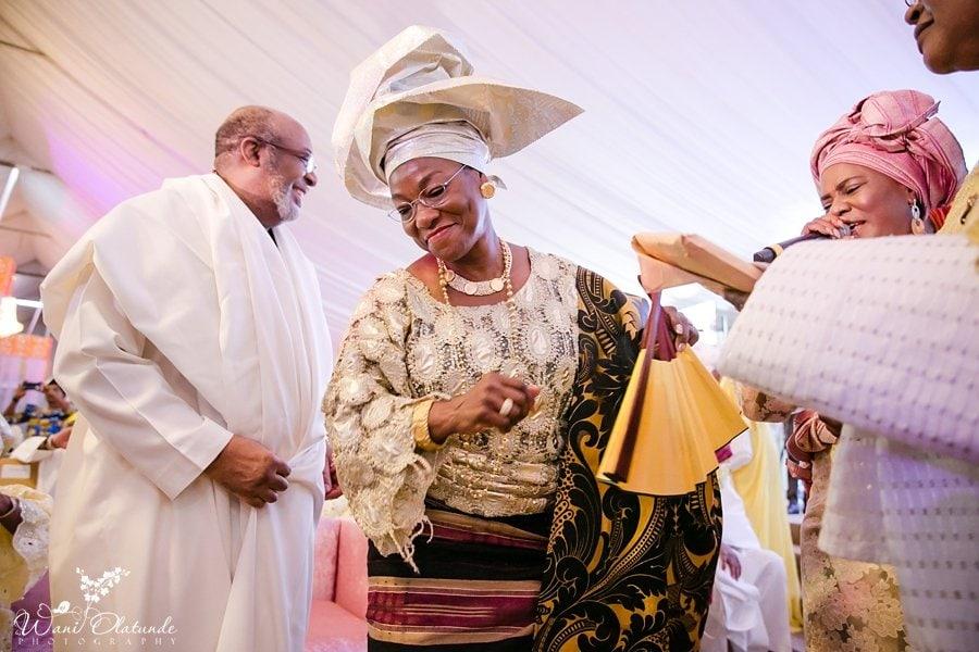 yoruba traditional wedding wani olatunde