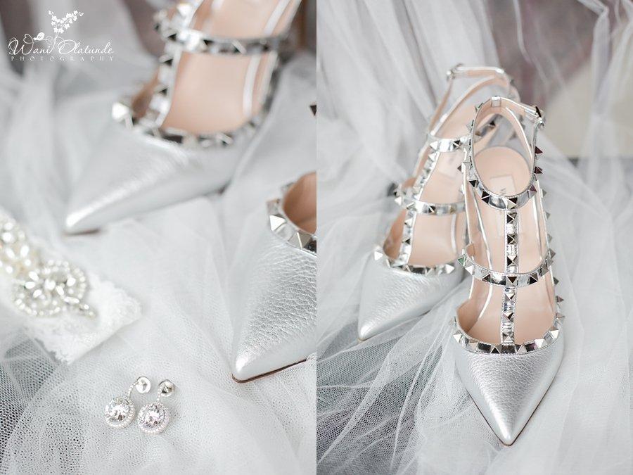wedding shoes wani olatunde
