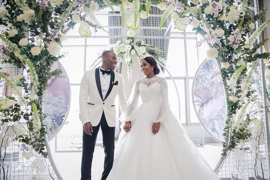 newton and david wedding lagos wani olatunde