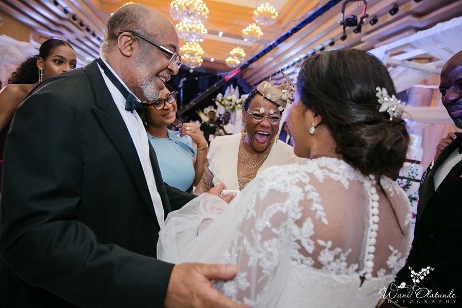 beautiful father daughter dance lagos wedding wani olatunde