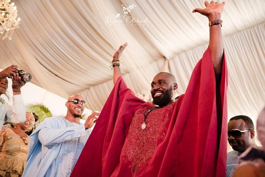 idoma groom dvenue lagos wedding wani olatunde