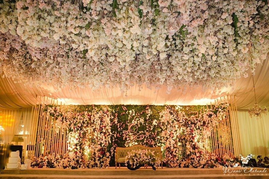 sarao decor traditional wedding wani olatunde