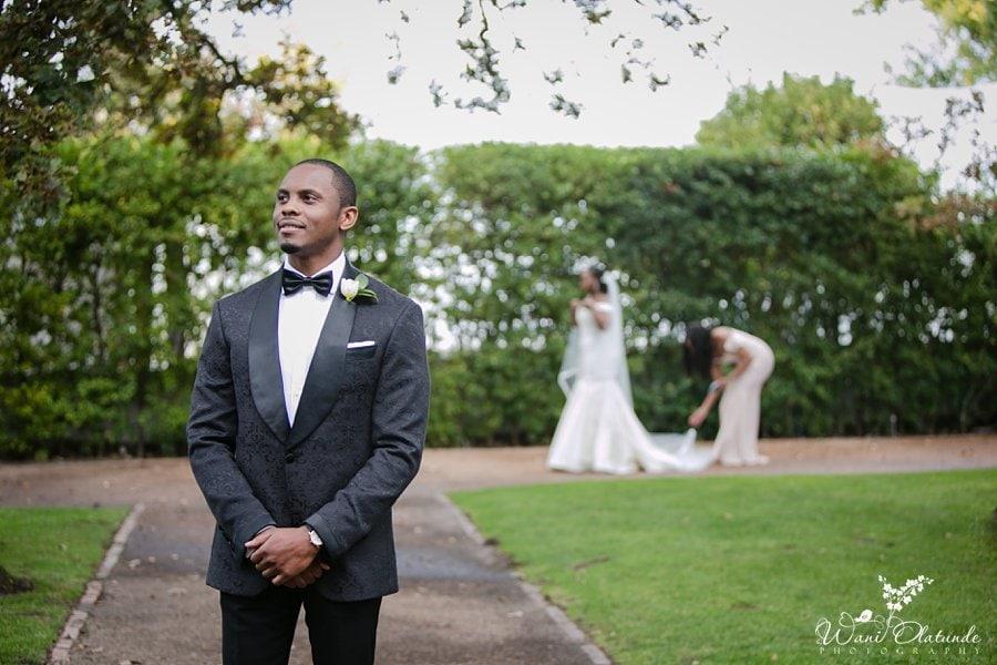 nigerian groom cape town wani olatunde